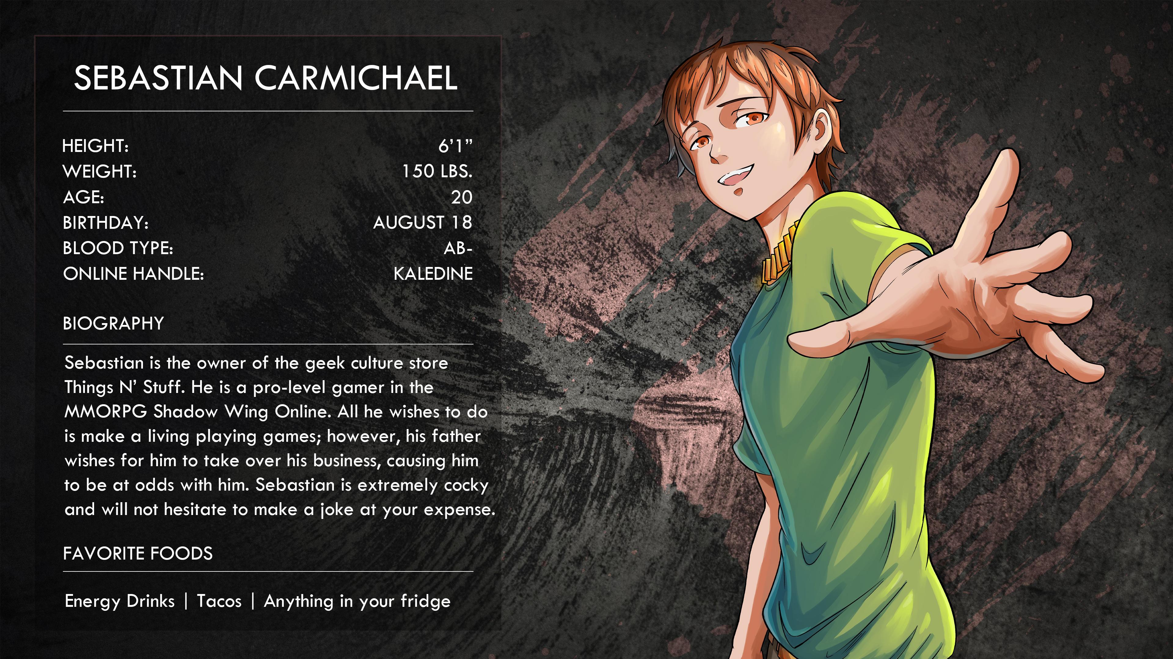 Sebastian Carmichael